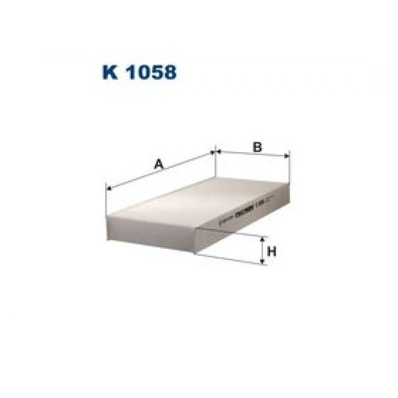 Kabinový filter Filtron K1058
