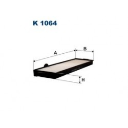 Kabinový filter Filtron K1064