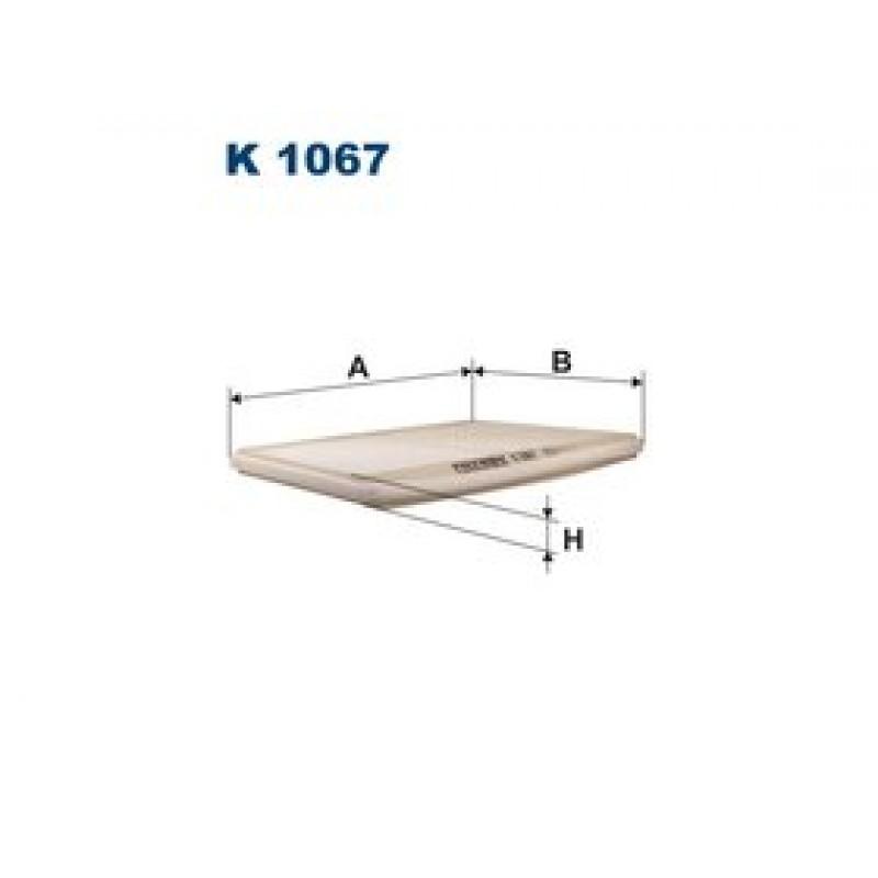 Kabinový filter Filtron K1067