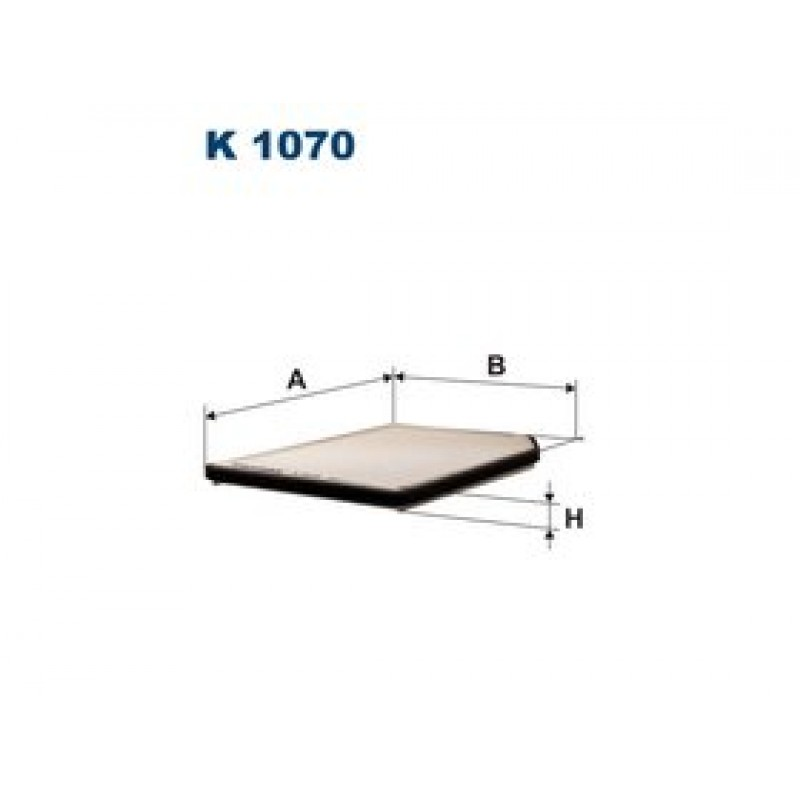 Kabinový filter Filtron K1070