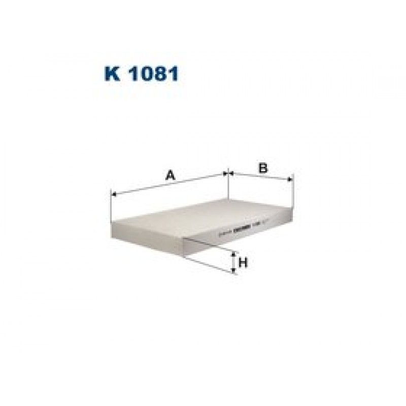 Kabinový filter Filtron K1081