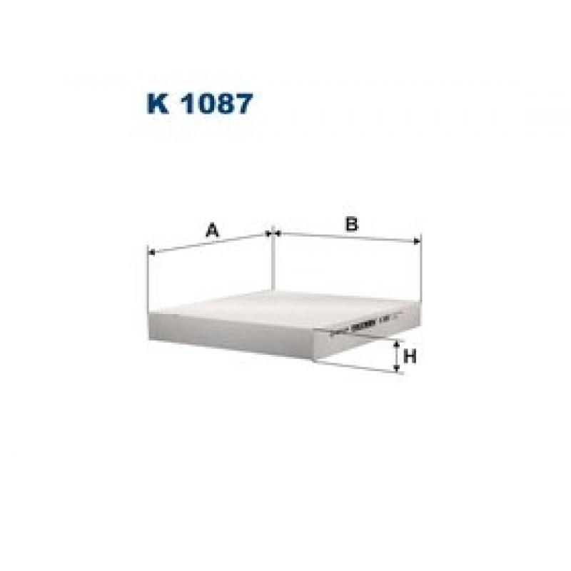 Kabinový filter Filtron K1087