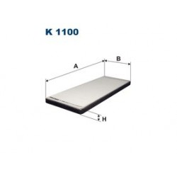 Kabinový filter Filtron K1100