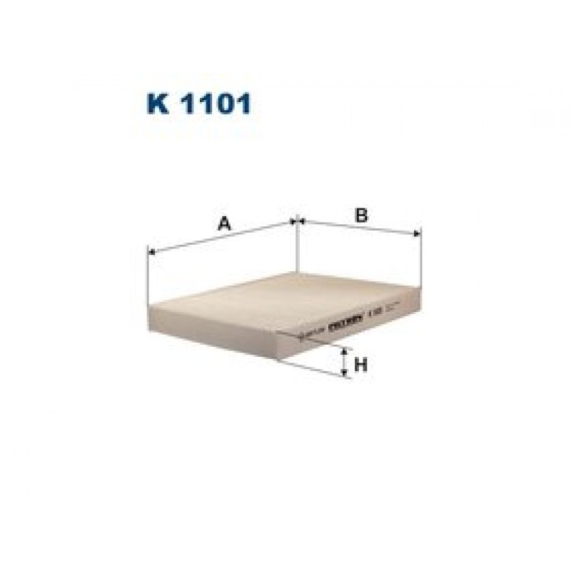 Kabinový filter Filtron K1101