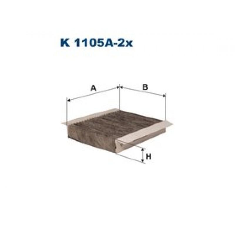 Kabinový filter Filtron K1105A-2X