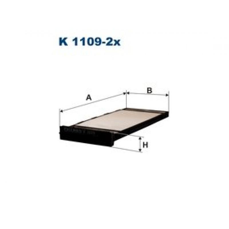 Kabinový filter Filtron K1109-2X