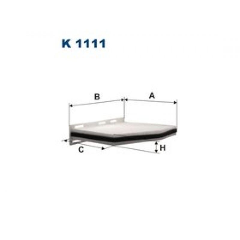 Kabinový filter Filtron K1111