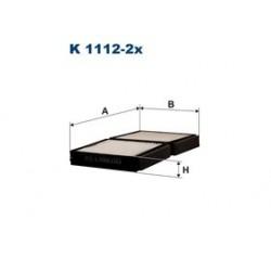 Kabinový filter Filtron K1112-2X