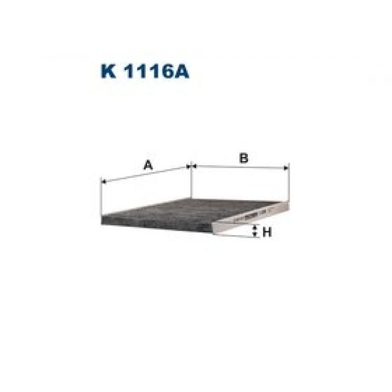 Kabinový filter Filtron K1116A