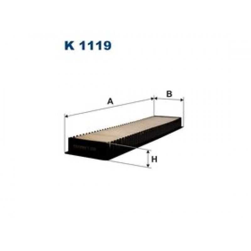 Kabinový filter Filtron K1119