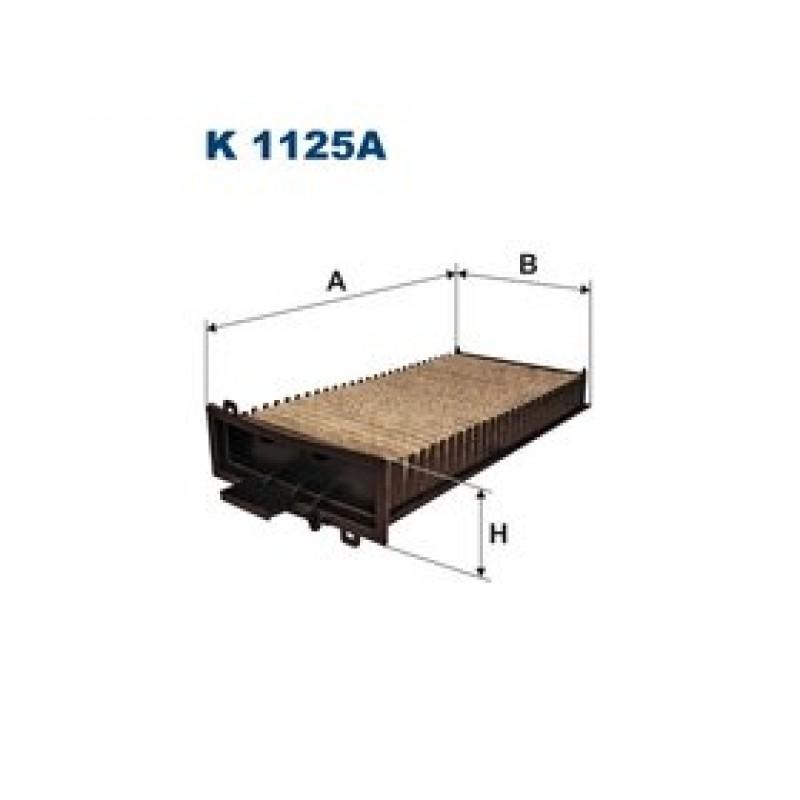 Kabinový filter Filtron K1125A