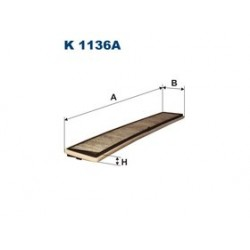 Kabinový filter Filtron K1136A