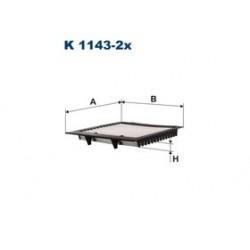 Kabinový filter Filtron K1143-2X