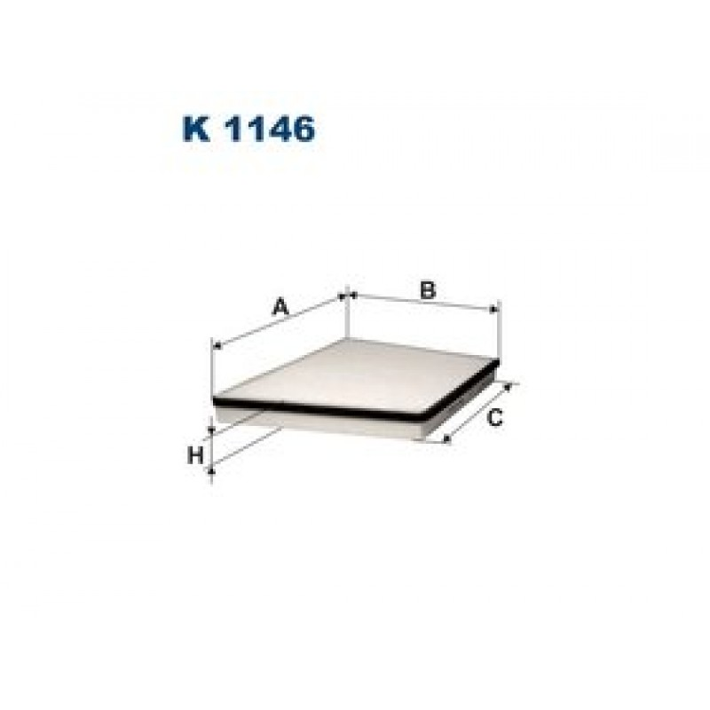 Kabinový filter Filtron K1146