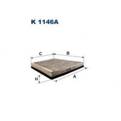 Kabinový filter Filtron K1146A