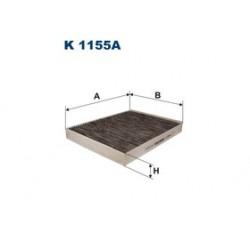 Kabinový filter Filtron K1155A