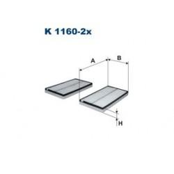 Kabinový filter Filtron K1160-2X