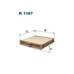 Kabinový filter Filtron K1167