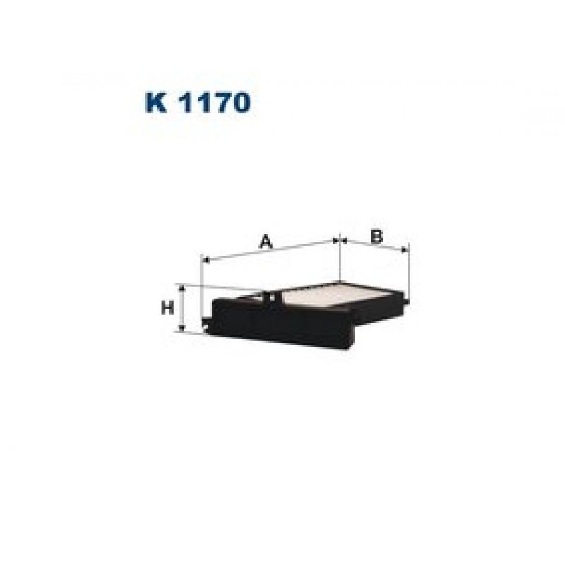 Kabinový filter Filtron K1170