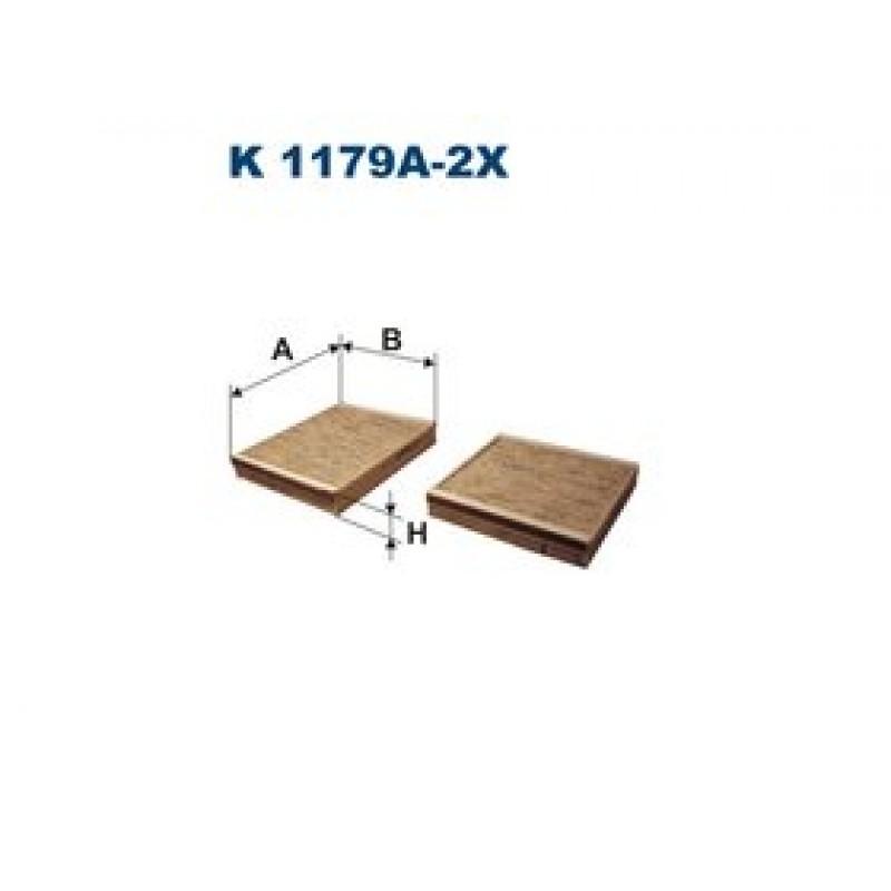 Kabinový filter Filtron K1179A-2X