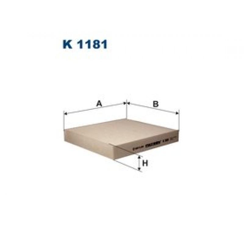 Kabinový filter Filtron K1181