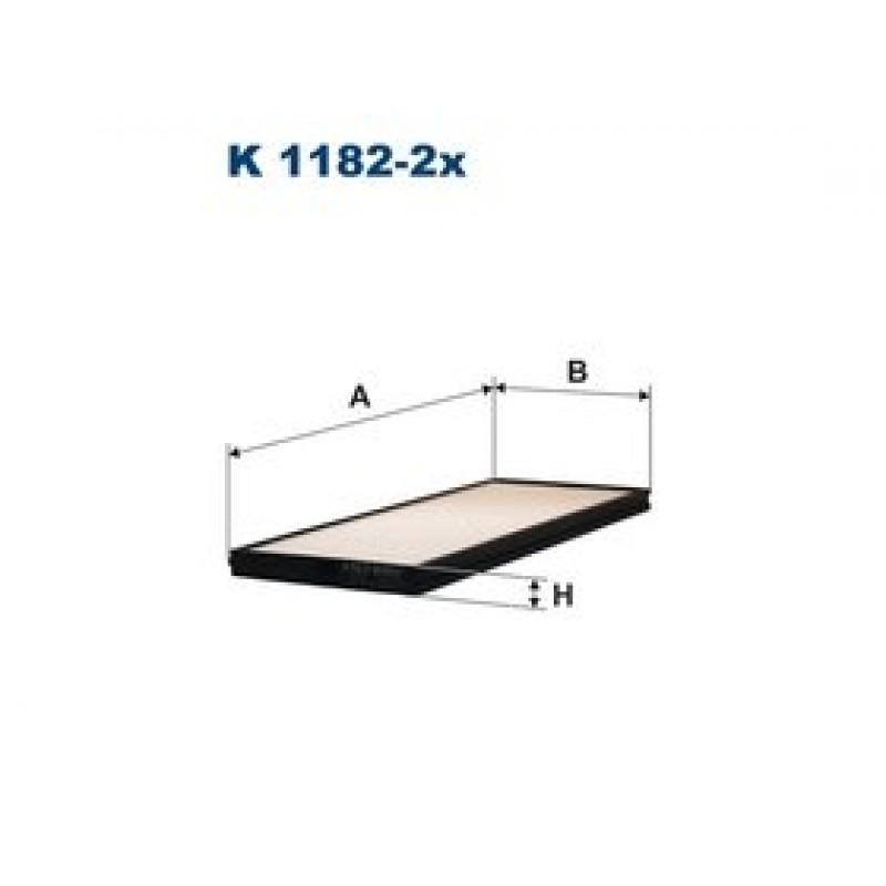 Kabinový filter Filtron K1182-2X