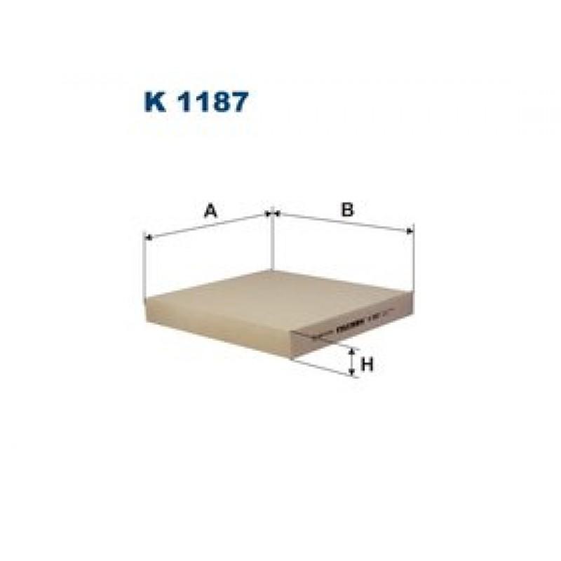 Kabinový filter Filtron K1187