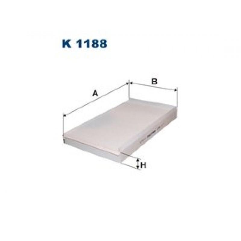 Kabinový filter Filtron K1188