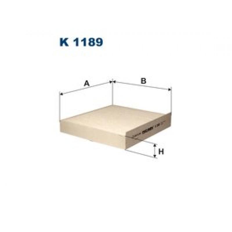 Kabinový filter Filtron K1189