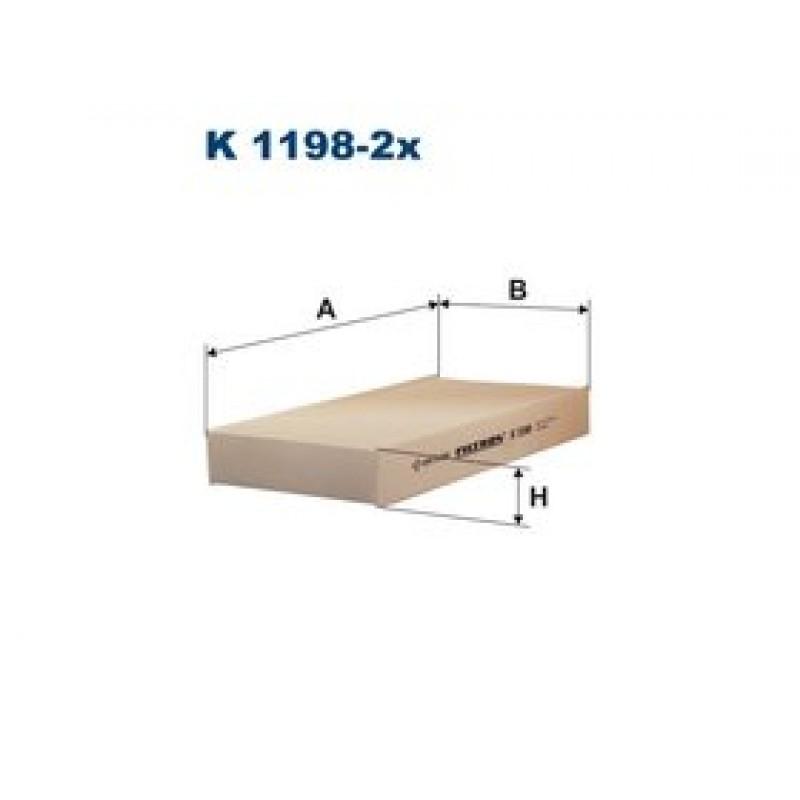 Kabinový filter Filtron K1198-2X