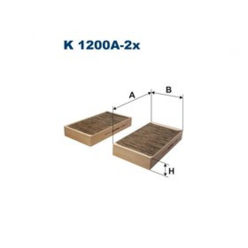 Kabinový filter Filtron K1200A-2X