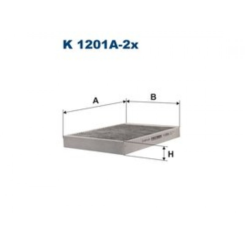 Kabinový filter Filtron K1201A-2X