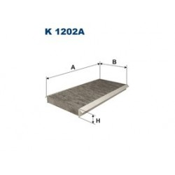Kabinový filter Filtron K1202A