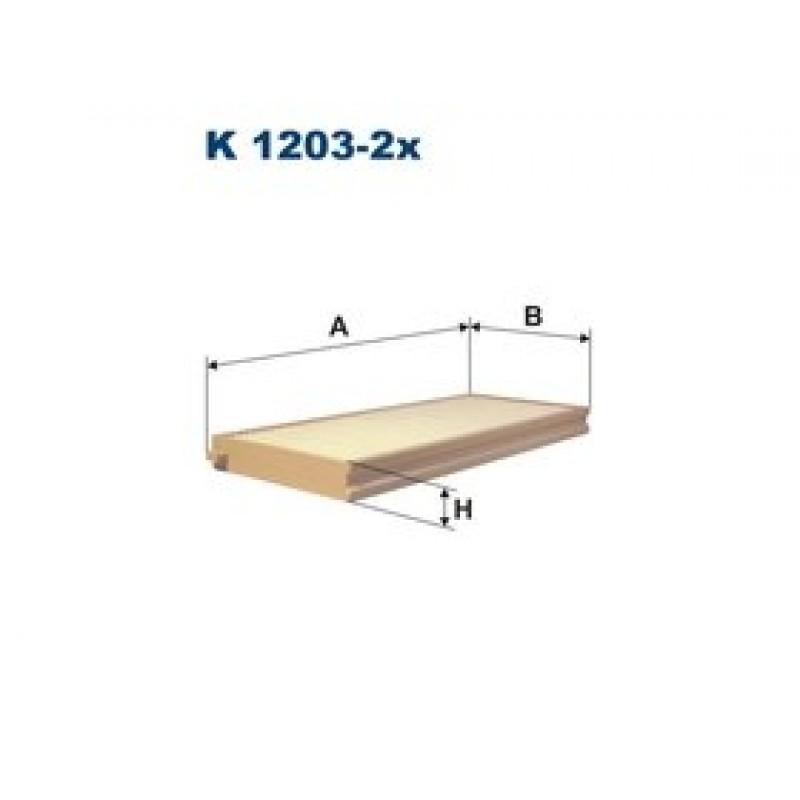 Kabinový filter Filtron K1203-2X