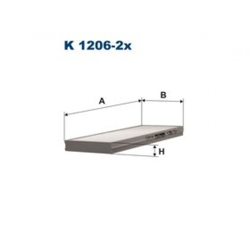 Kabinový filter Filtron K1206-2X