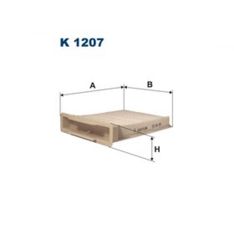 Kabinový filter Filtron K1207