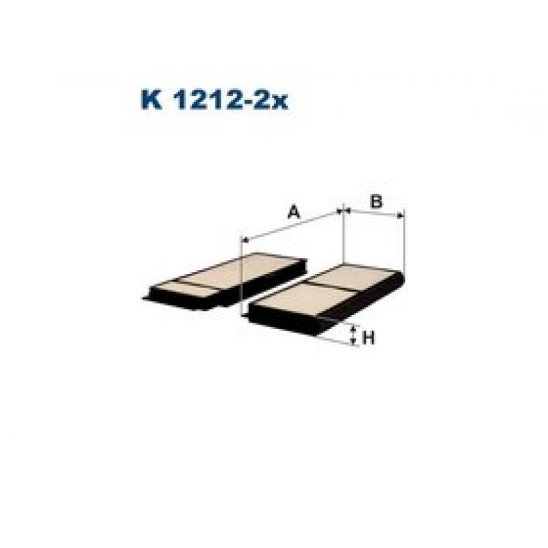 Kabinový filter Filtron K1212-2X
