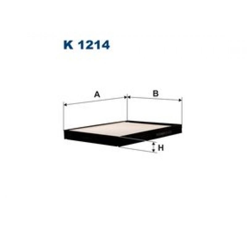 Kabinový filter Filtron K1214