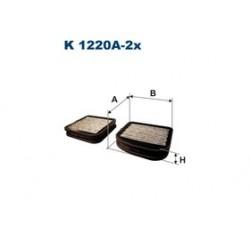 Kabinový filter Filtron K1220A-2X