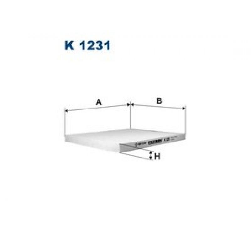 Kabinový filter Filtron K1231