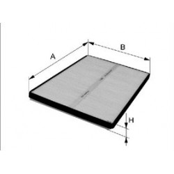 Kabinový filter Filtron K1280-2X