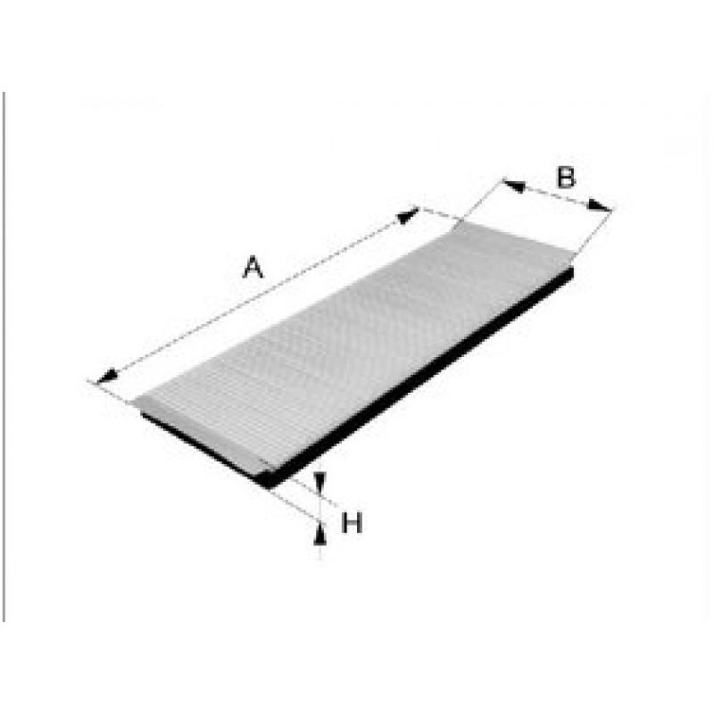 Kabinový filter Filtron K1282-2X