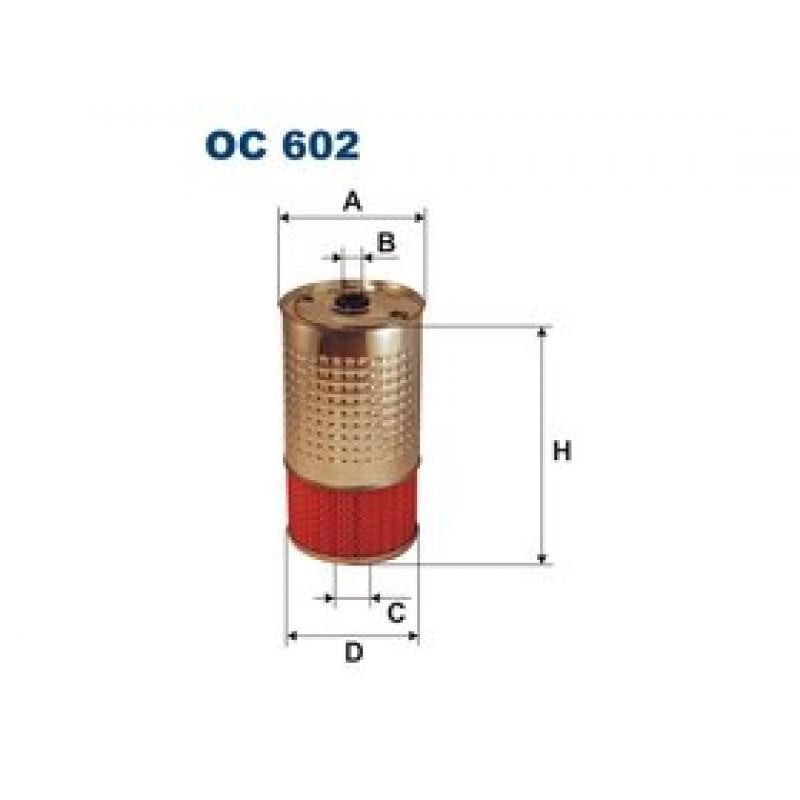 Olejový filter Filtron OC602