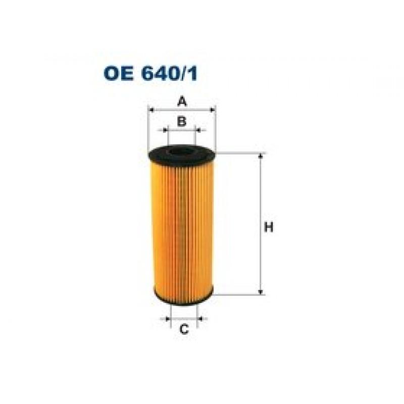 Olejový filter Filtron OE640/1