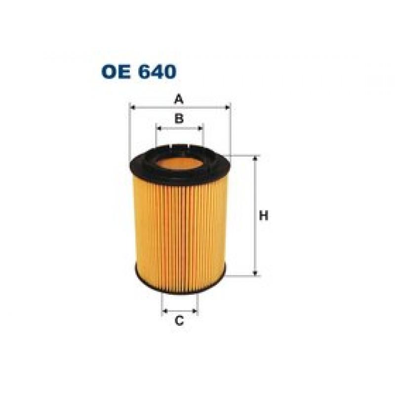 Olejový filter Filtron OE640