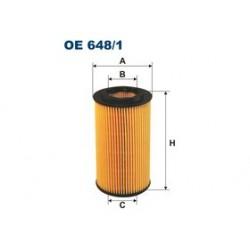 Olejový filter Filtron OE648/1