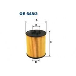 Olejový filter Filtron OE648/2