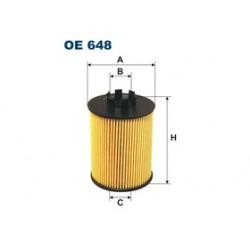 Olejový filter Filtron OE648