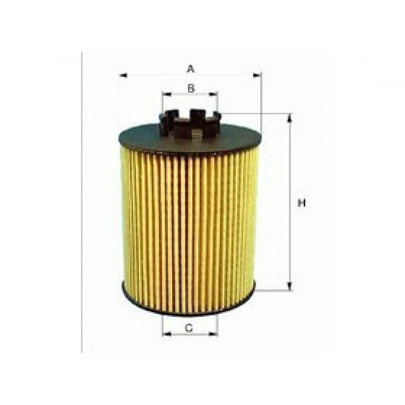 Olejový filter Filtron OE648/3