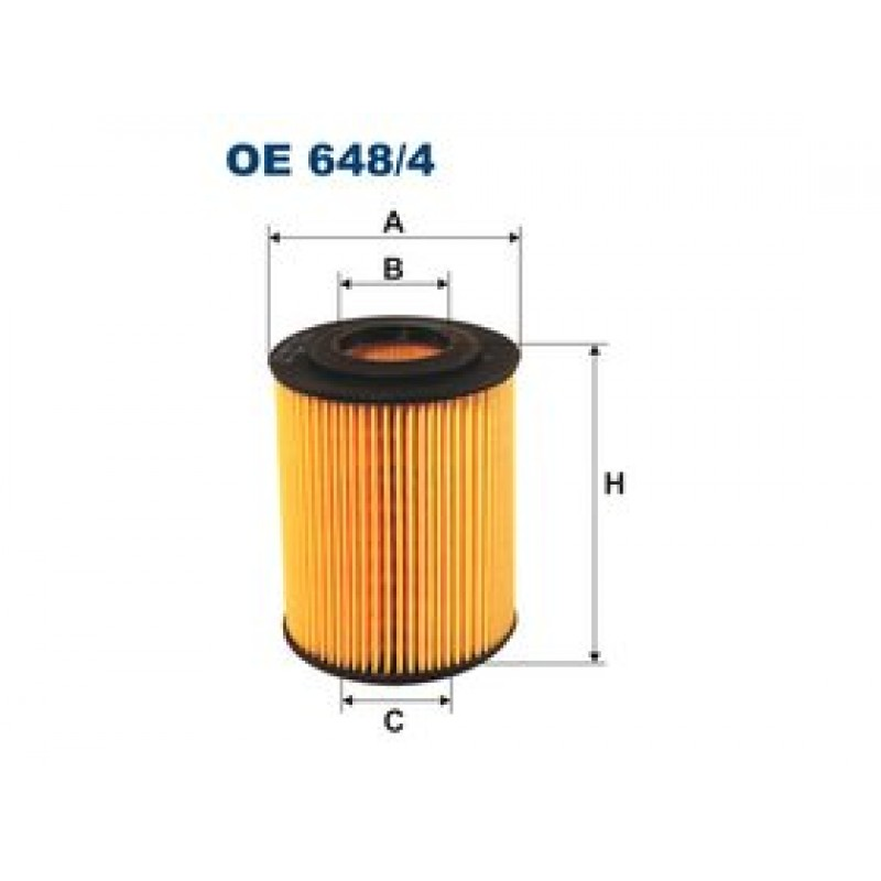 Olejový filter Filtron OE648/4